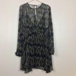 """IRO ruffled layered dress""""resseyspe"""""""